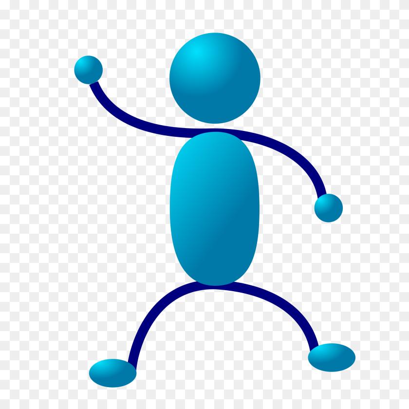 Stick Man Standing Clip Art - Person Standing Clipart