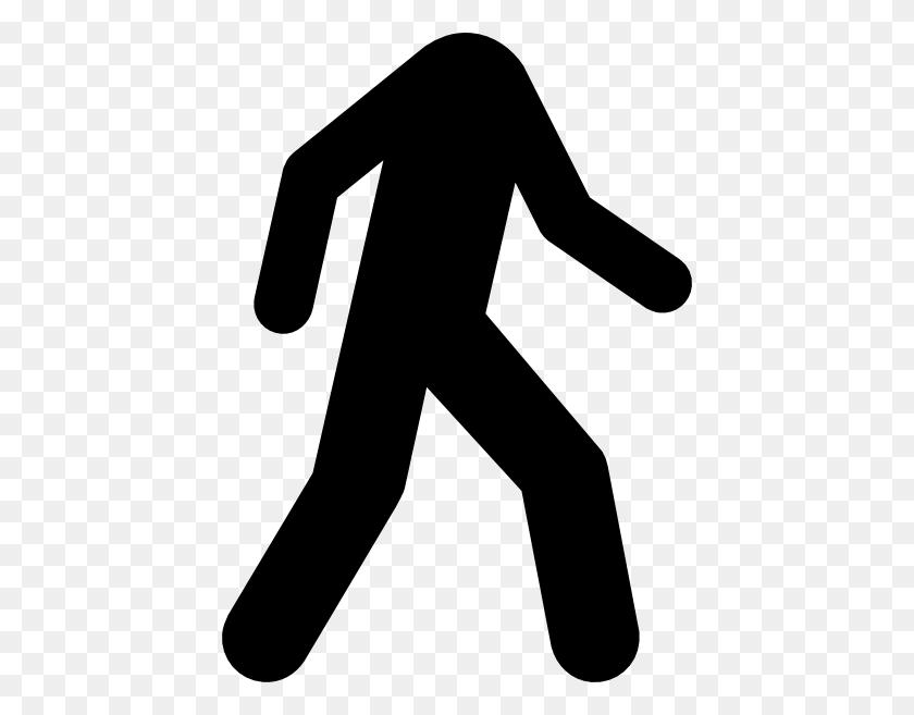 Stick Man Walking Clipart - Man Walking Clipart