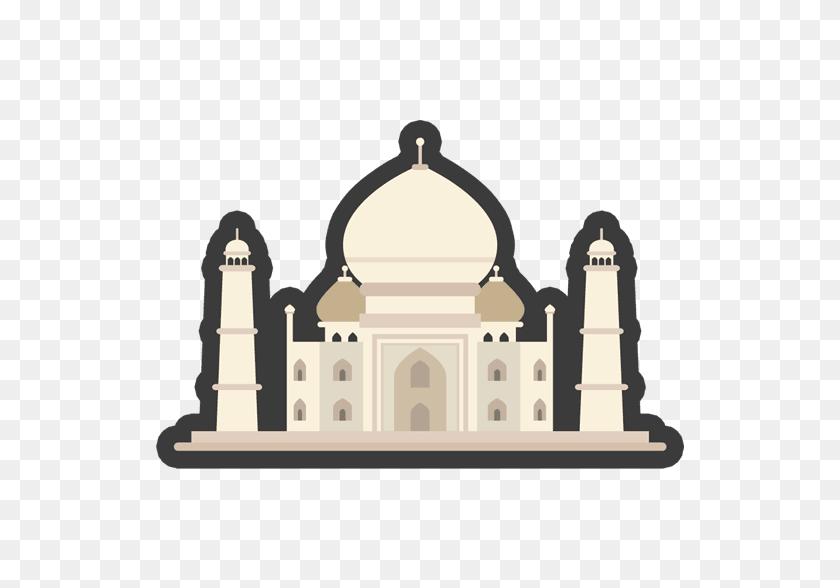 528x528 Stickers - Taj Mahal Clipart