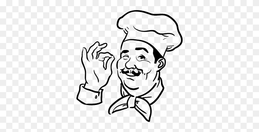 Cook Cartoon Clipart - Full Size Clipart (#1227116) - PinClipart