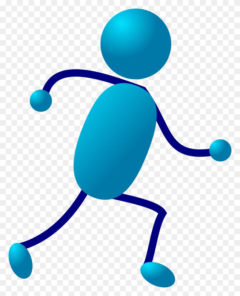 Stickman Stick Figure Run Running Free Image Inside Running Stick - Marathon Runner Clipart