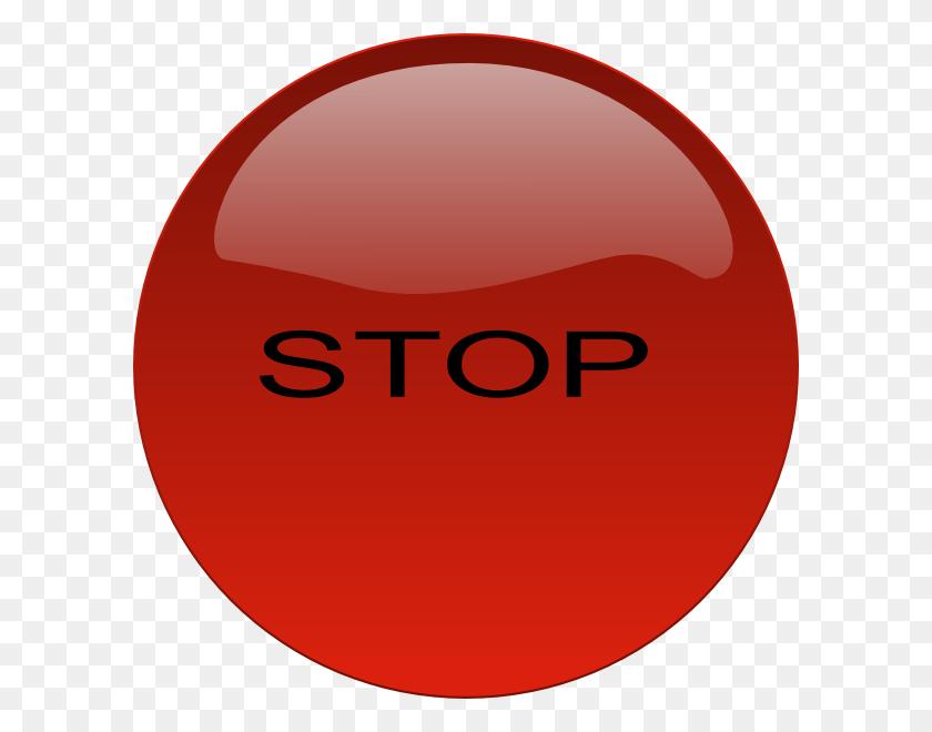 Stop Button Clip Art - Stop Button PNG