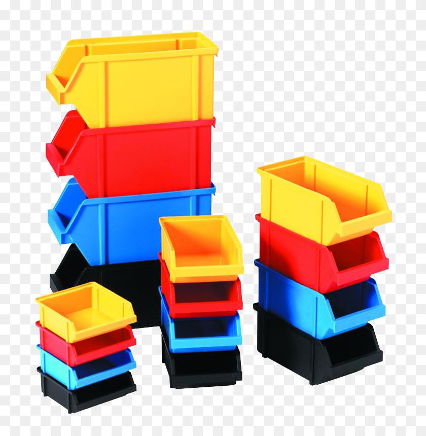 Storage Bins - Block Center Clipart