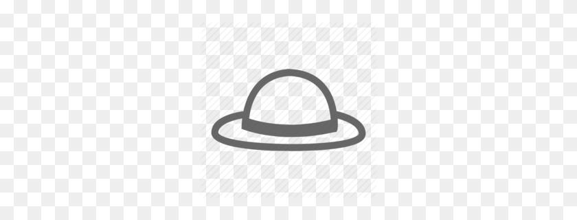 Straw Hat Clipart - Straw Hat Clipart