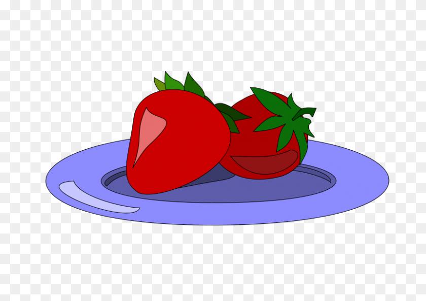 Strawberry Clip Art - Cute Bulldog Clipart