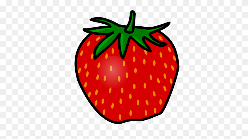 Strawberry Clip Art Free Clipart Images - Tomato Clipart Black And White