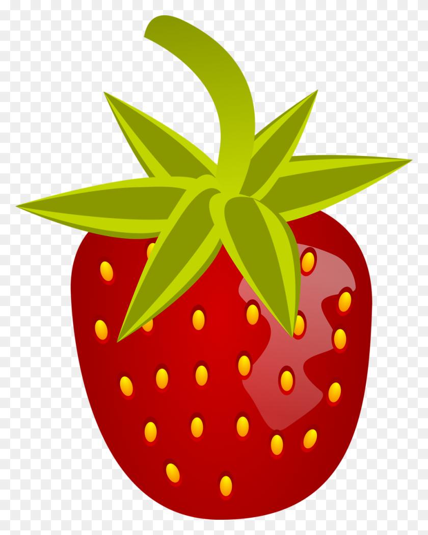 Strawberry Free Stock Photo Illustration Of A Strawberry - Strawberry Jam Clipart