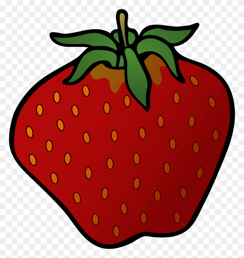 Strawberry Free Stock Photo Illustration Of A Strawberry - Strawberry Jam Clipart
