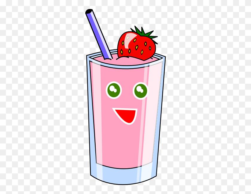 Strawberry Shake Clip Art - Shake Clipart