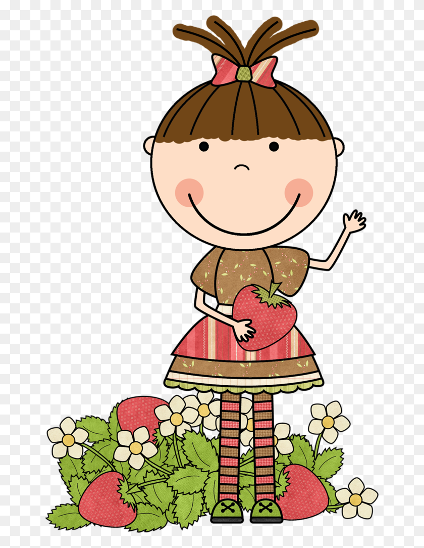 Strawberry Strawberrys Forever Clip Art - Scrappin Doodles Clipart