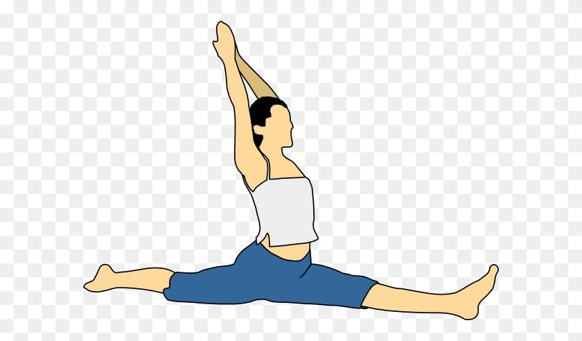 Stretch Clip Art - Pilates Clipart