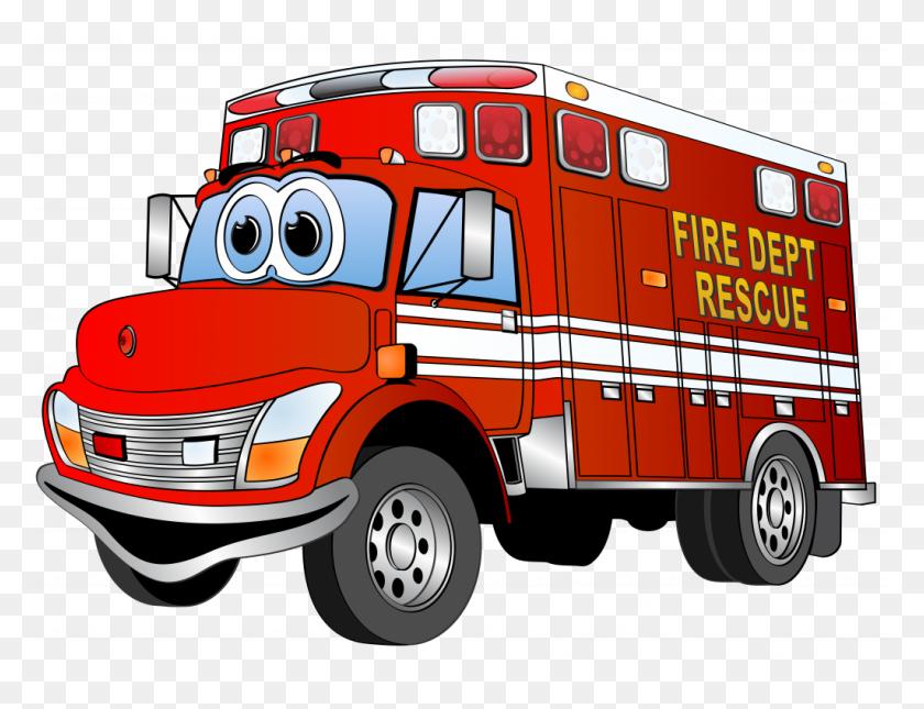 Strikingly Fire Truck Clip Art Free - Fire Truck Clipart