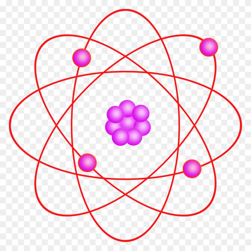 Structure Clipart Atoms And Molecule - Molecule Clipart