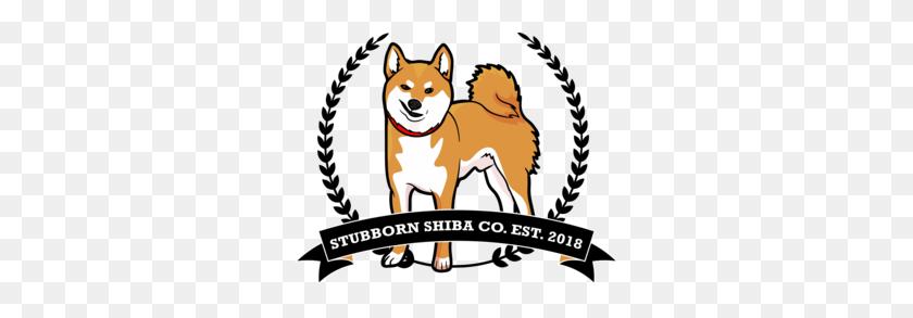 Stubborn Shiba Co - Shiba Inu Clipart