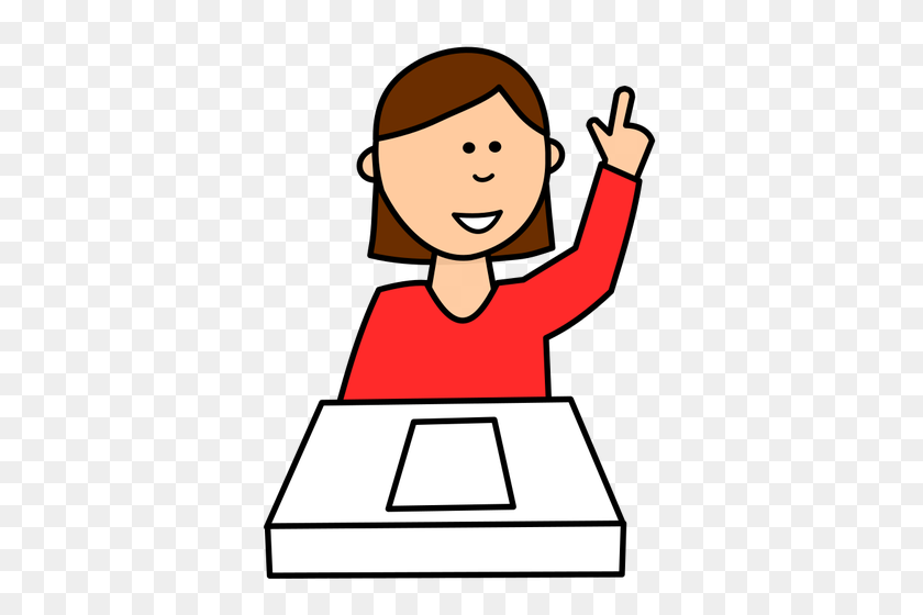 Student Free Clipart - Student Doing Homework Clipart