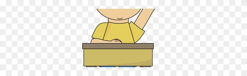 Student Raising Hand Clip Art - Student Raising Hand Clipart