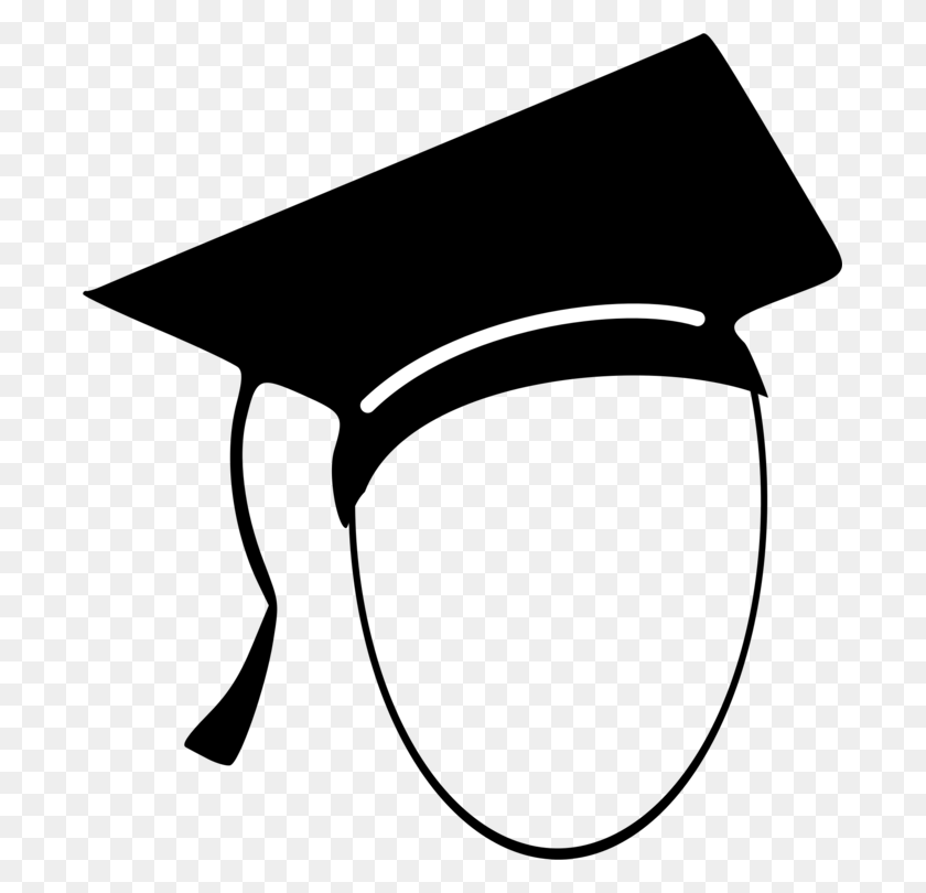 Student Square Academic Cap Computer Icons Graduation Ceremony - Mortar Clipart