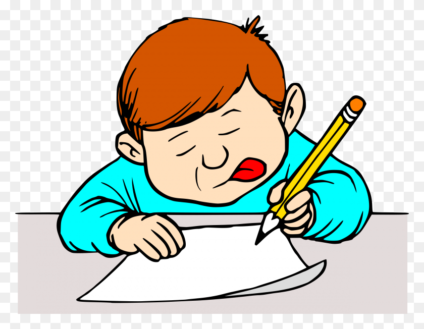 Students Writing Clipart Clip Art Images - Writing Clipart