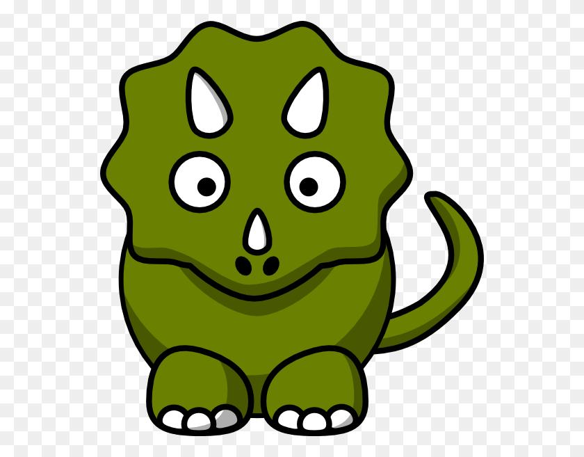 Studiofibonacci Cartoon Triceratops Clip Art Free Vector - Triceratops Clipart