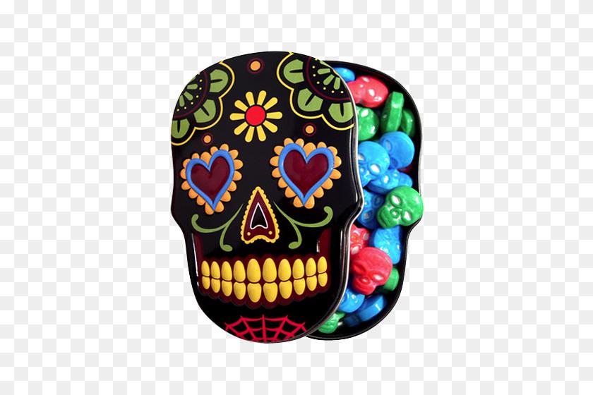 Sugar Skulls Sweet Candy Skulls - Sugar Skull PNG