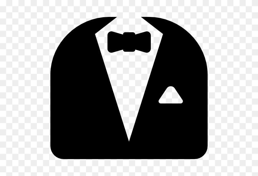 Suit, Tuxedo, Bow Tie, Fashion, Dinner Suit Icon - Tuxedo Clipart