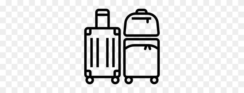 Black Creative Suitcase Element, Black, Creative, Luggage PNG Transparent  Clipart Image and PSD File for Free Download