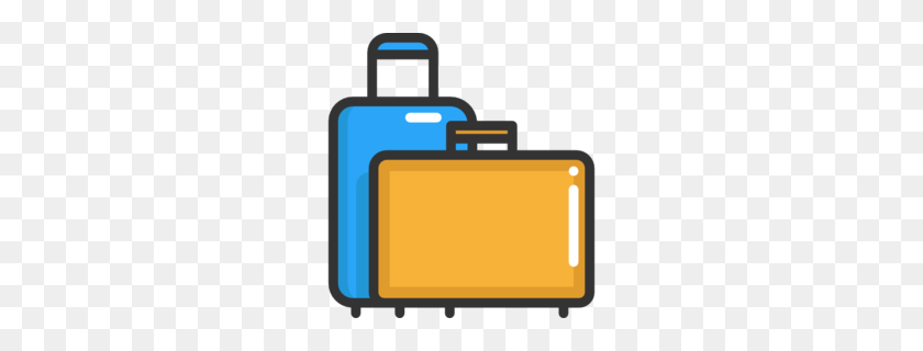 Suitcase Clipart - Briefcase PNG