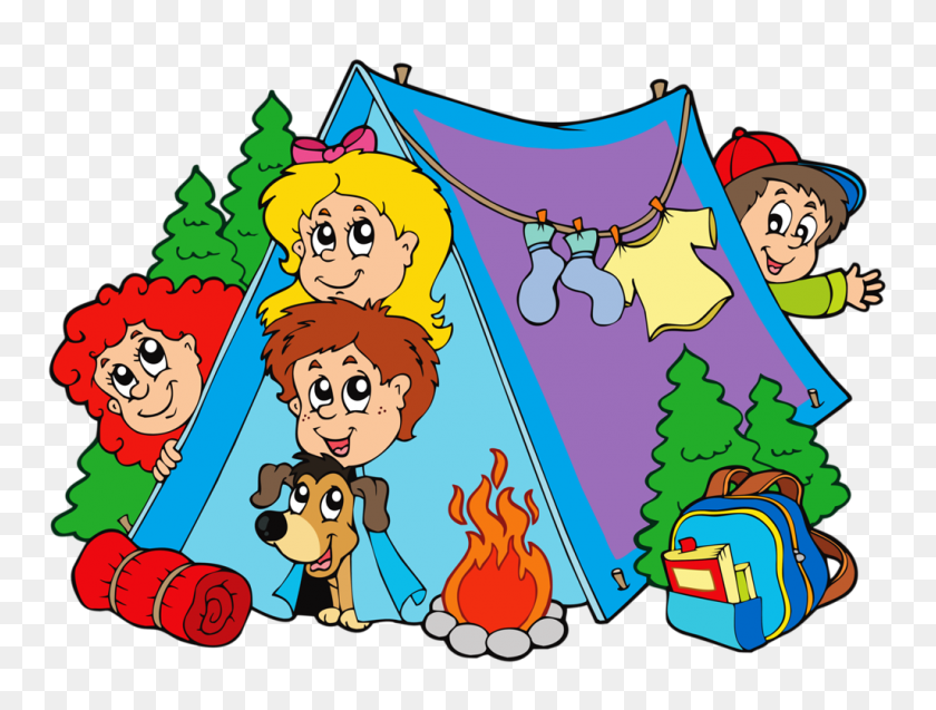 Summer Camp Drawings Camping, Camping With Kids, Camping - Kids Camping Clipart