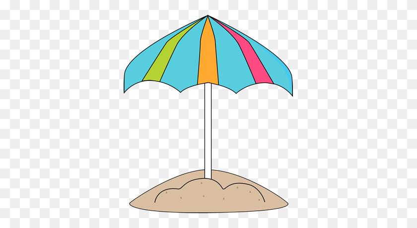 Summer Clipart Beach Umbrella - Summer Clipart Free