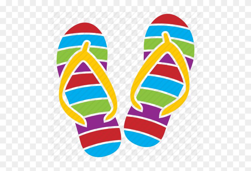 Summer Clipart Slipper - Summer Clip Art Free
