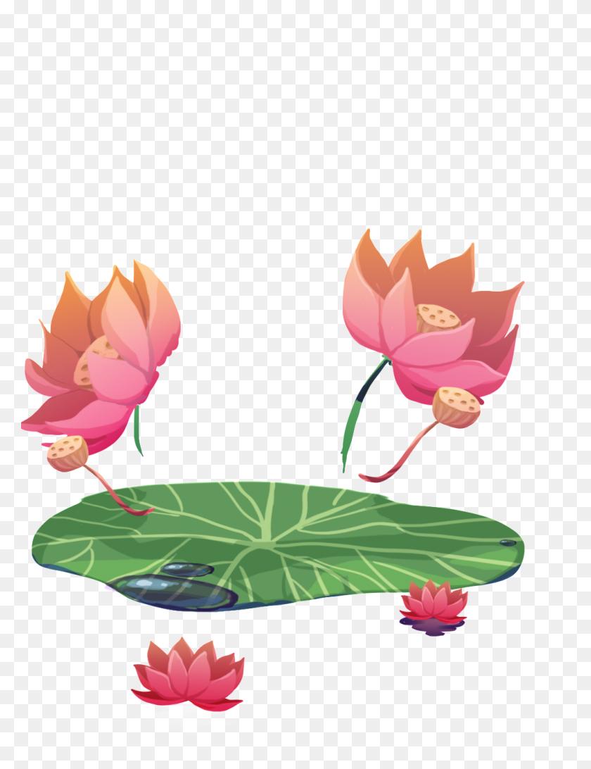 1024x1355 Summer Lotus Transparent Free Png Download Png Vector - Lotus PNG