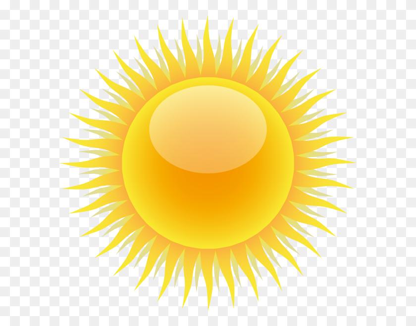 Sun Clip Art - Yellow Sun Clipart