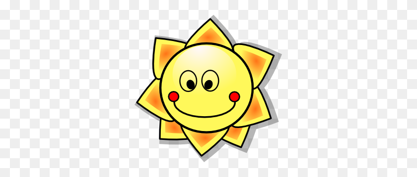 Sun Clip Art - Corner Sun Clipart
