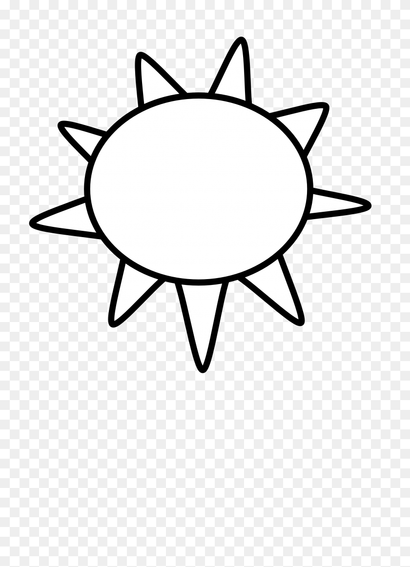 Sun Clip Art Black And White Look At Sun Clip Art Black - London Clipart Black And White