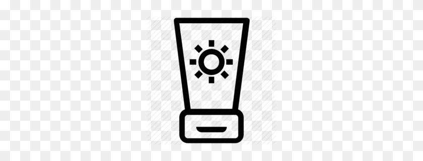 Sun Clipart Clipart - Lotion Clipart