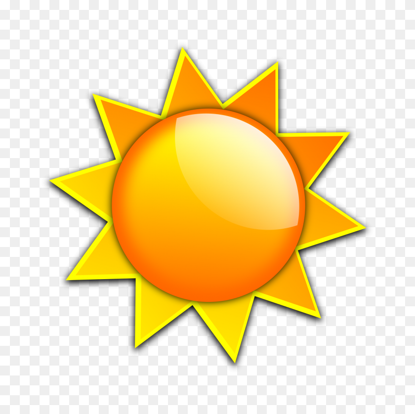 Sun Clipart Simple - Sun Clipart Black And White