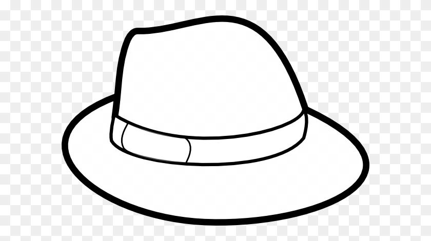 Sun Hat Clipart - Straw Hat Clipart