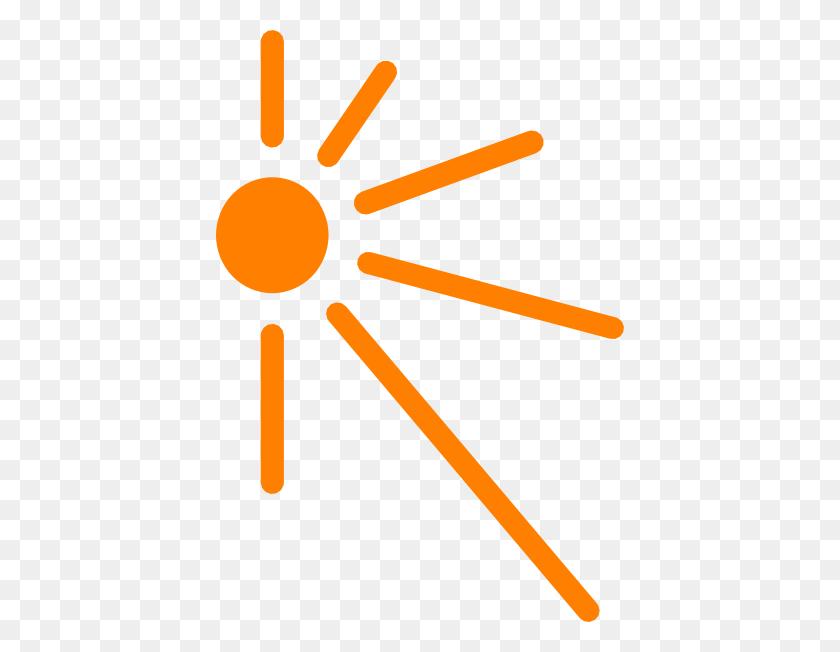 Sun Rays Clipart - Sun Cartoon PNG