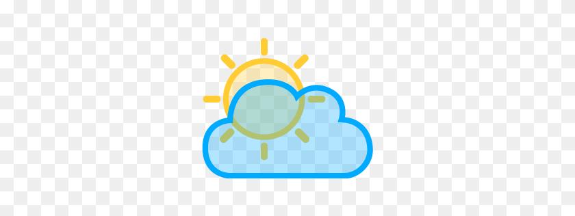 Sun Rays Cloud Icon - Sunrays PNG