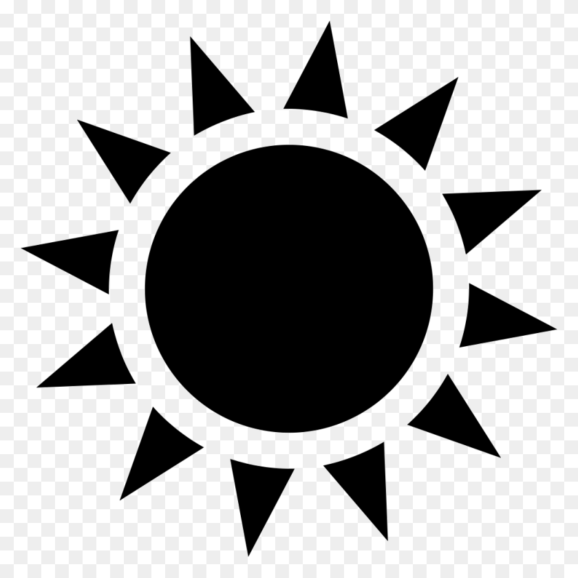 Sun With Sunrays Png Icon Free Download - Sunrays PNG