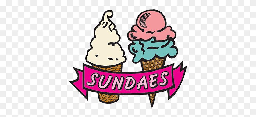 Sundaes Ice Cream - Dole Whip Clipart