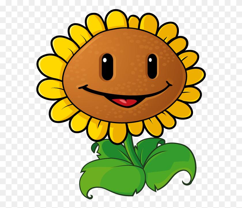 Sunflower Clip Art Clipartbold - Plants Vs Zombies Clipart
