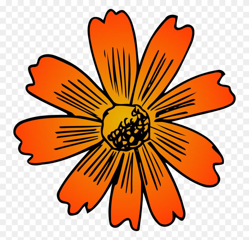 750x750 Sunflower M Floral Design Cut Flowers Rose - Peony Flower Clipart