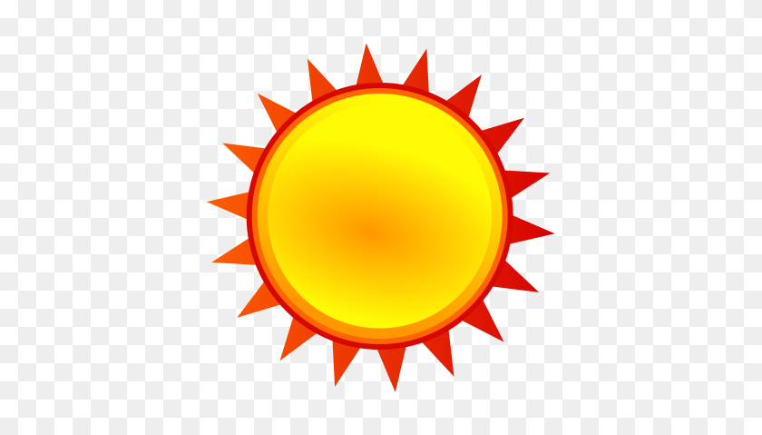 Sunny Clip Art - Partly Sunny Clipart
