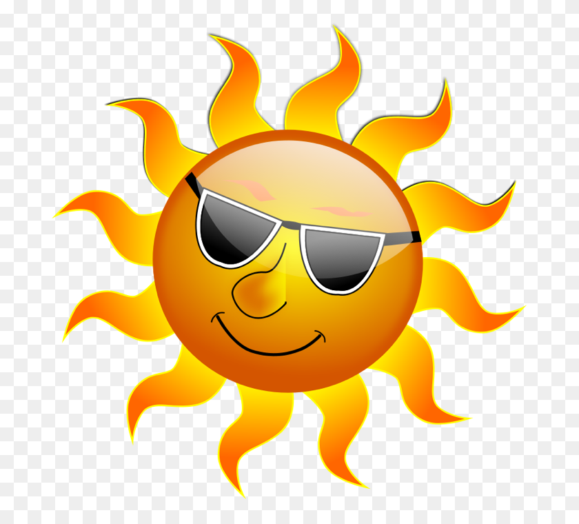 Sunny Clip Art Sun Clipart Graphics Of Suns Sunny Weather Sun - Sunny Weather Clipart