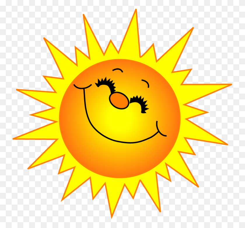 Sunny Clipart Sunshine - Corner Sun Clipart