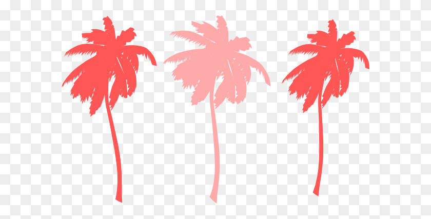 Sunset Palm Tree Clipart - Palm Tree Sunset Clipart