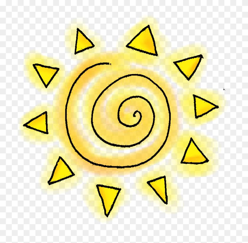 Sunshine Clipart Summer Sun - Corner Sun Clipart