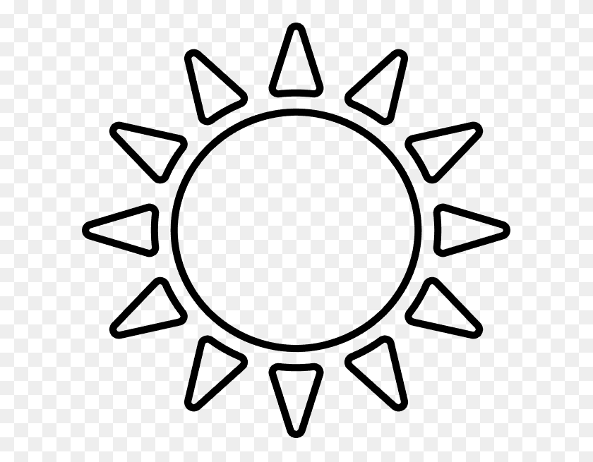 Sunshine Clipart Sunny Day Sun Clipart Black And White Png