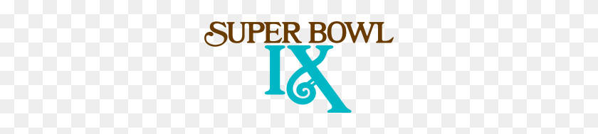 Super Bowl Ix - Pittsburgh Steelers Logo PNG